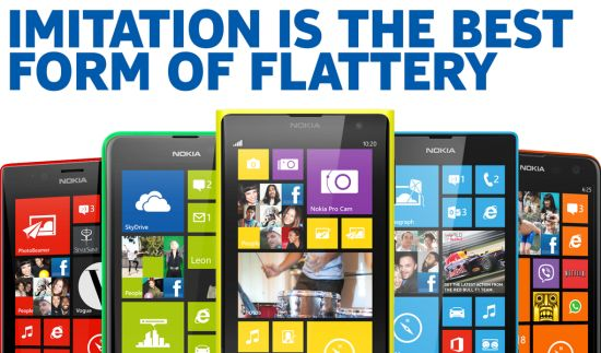 Nokia pest Apple