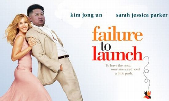 North Korea Rocket Fail
