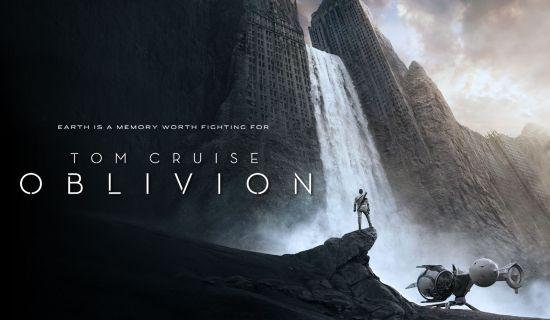 Oblivion met Tom Cruise