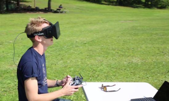 Oculus FPV drone