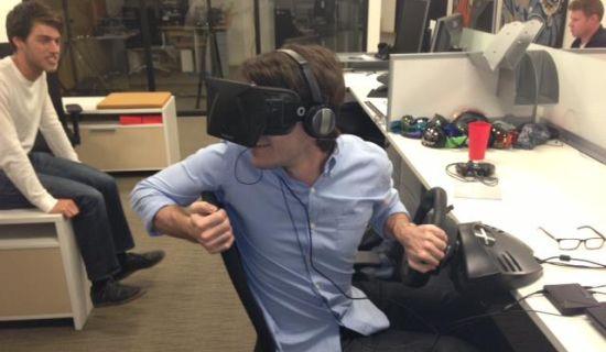 Oculus Rift investering