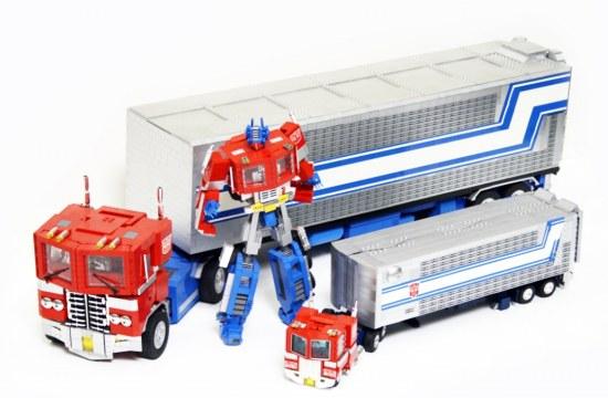 Optimus Prime van Lego