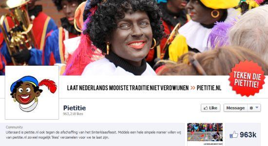Pietitie record op Facebook
