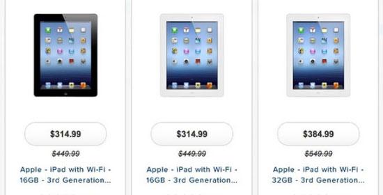 Prijzen dalen, nieuwe Apple iPads in aantocht