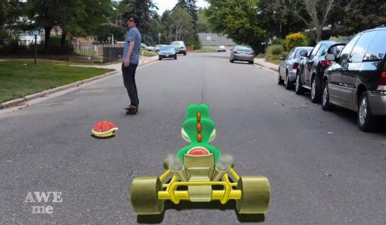 Real-life Mario Kart