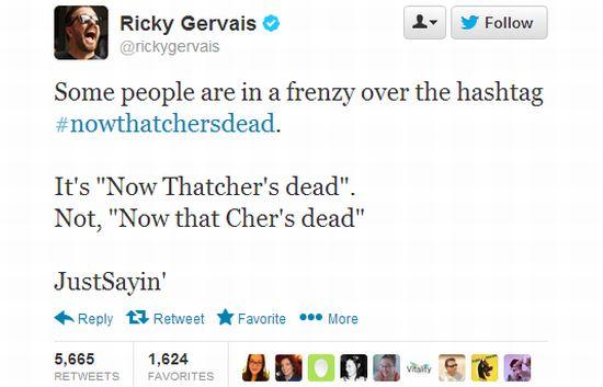 Ricky Gervais legt het uit