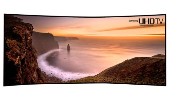 Samsung Curved UHD TV 105 inch
