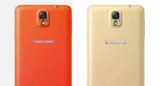 Samsung Galaxy Note 3 rood & goud