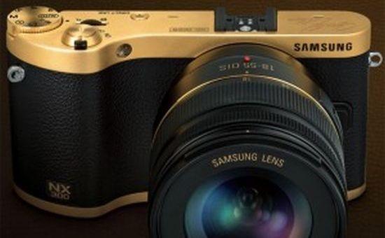 Samsung NX300 goud