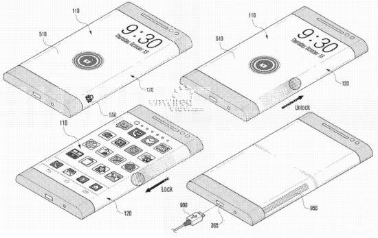 Samsung Youm scherm patent