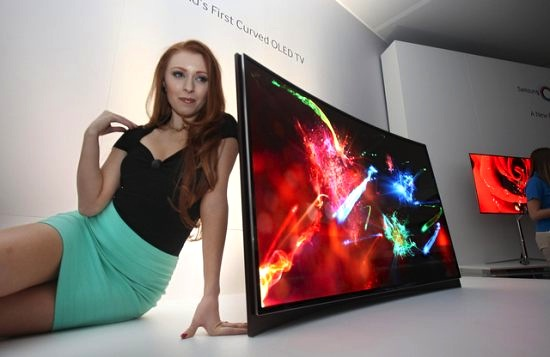 Prijs gebogen TV van Samsung is bekend: €7.999!