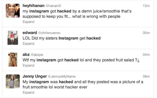 Smoothie hack Instagram