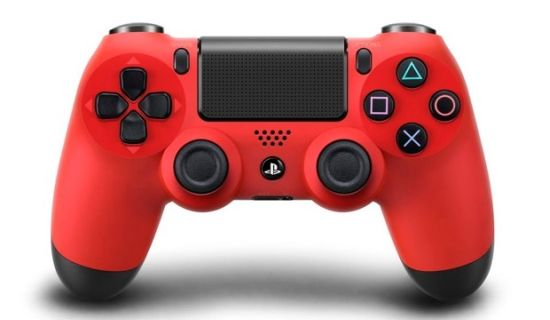 Sony DualShock 4 rood
