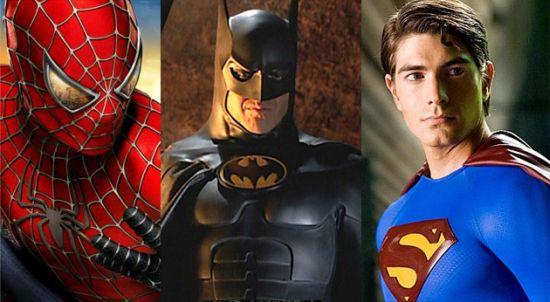 Spiderman vs Batman vs Superman