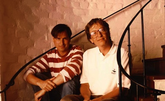 Steve en Bill in 1991