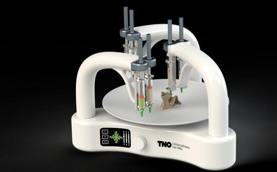 TNO 3D pasta printer