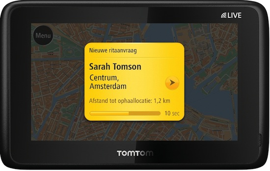 TomTom Taxi is geflopt