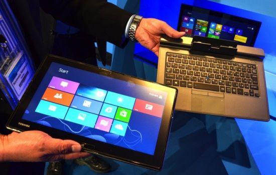 Toshiba laptop met afneembaar scherm