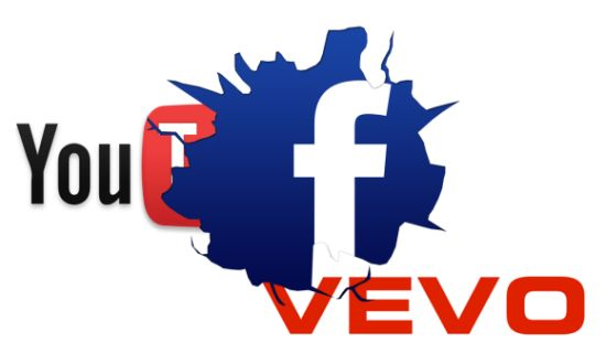 VEVO en YouTube vs Facebook