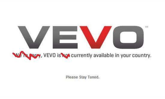 VEVO beschikbaar in Nederland