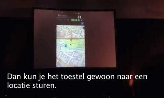 Vliegtuig hacken met Android app
