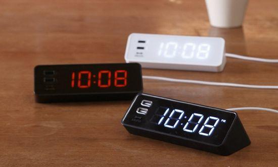 Wekkers met USB-poorten