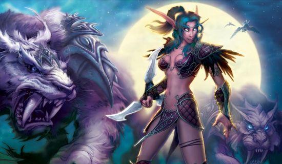World of Warcraft babe