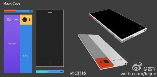 Xiaomi Magic Cube modulaire smartphone