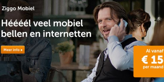 Ziggo Mobiel Sim Only abonnementen