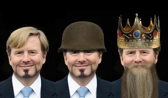 Zonder baard geen Koning