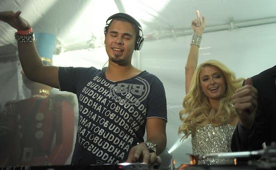 Afrojack & Paris Hilton