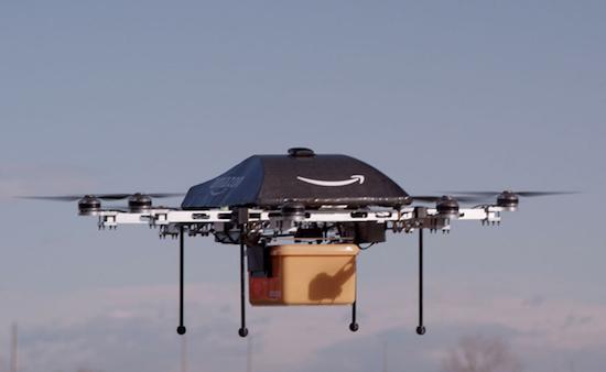 Met deze drones wil Amazon pakketjes gaan bezorgen