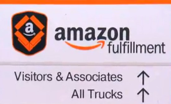 Amazon fulfillment, trucks on sunday