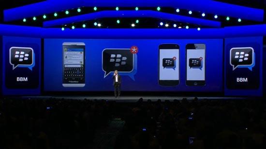 BBM zou op meerdere devices komen