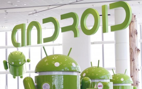 Android dominates