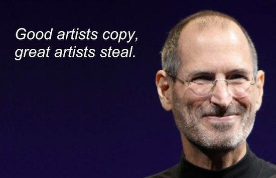 Vijf ideeën die Apple schaamteloos heeft gestolen