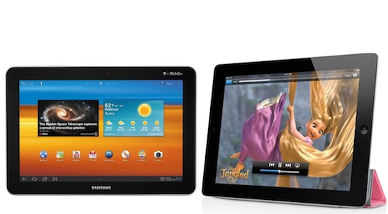 Apple en Samsung verkopen dit jaar 110 miljoen tablets