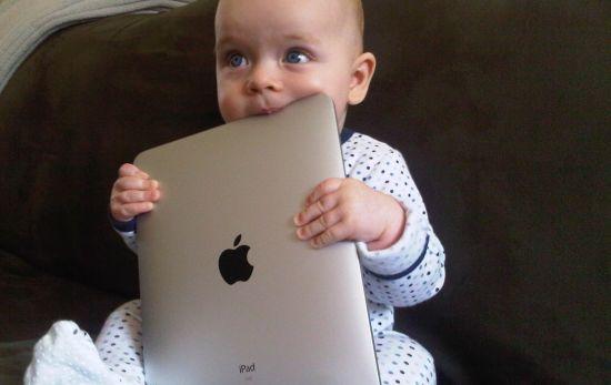 Lust wel pap van de iPad