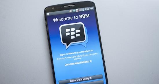 Je kunt straks gratis bellen met Blackberry Messenger (BBM)