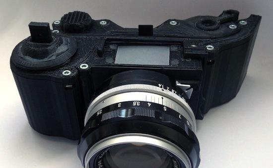 Deze SLR-camera is uit een 3D-printer komen rollen