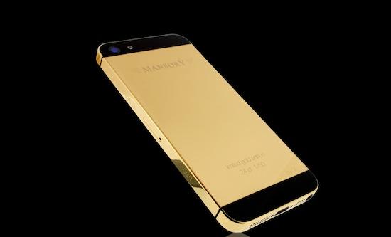 Mansory gaat gouden iPhones verkopen