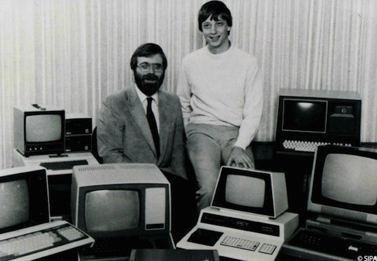 Bill Gates & Paul Allen anno 1974