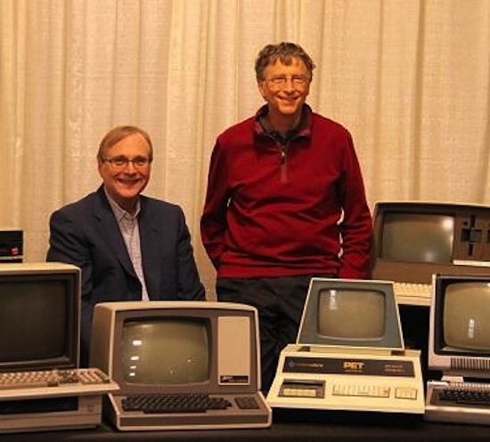 Bill Gates & Paul Allen anno 2013