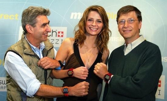 Dinges, Misha Barton, Bill Gates