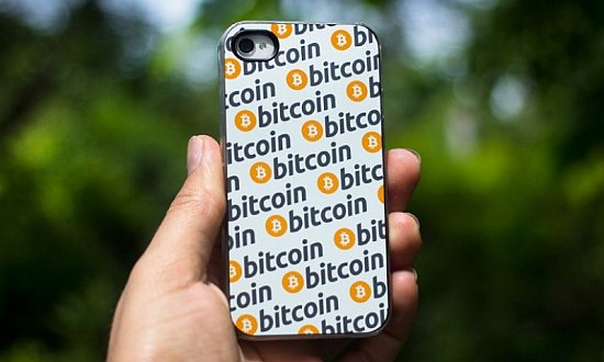 Bitcoin iPhone cover