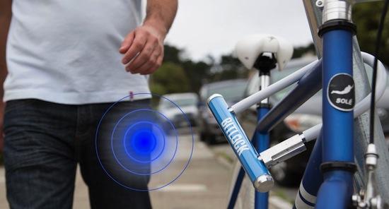 BitLock: open fietsloten voortaan met je telefoon