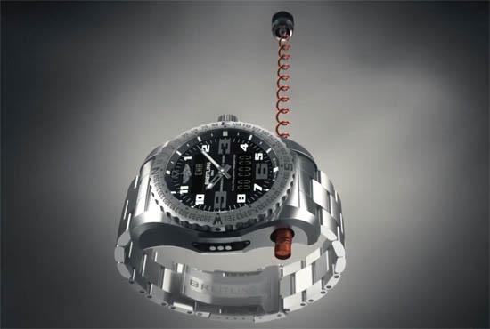 Breitling Emergency II Antenne