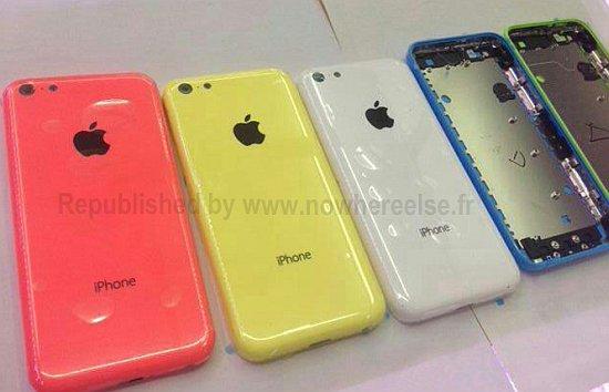Gekleurde achterkantjes van de budget iPhone