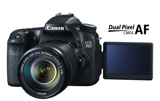 Canon introduceert EOS 70D