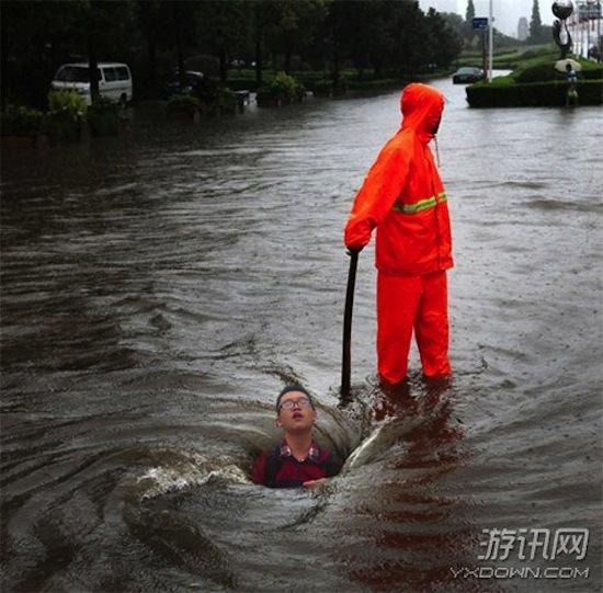 Chinese photoshoptrollen aan het werk